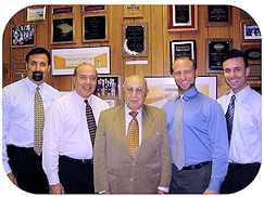 Ron, Nick Sr., Arsen, Eric and Nick Kashkashian Jr.